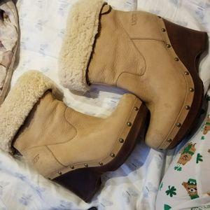 Ugg boots high heel